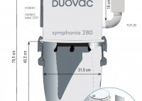 náhled - DuoVac Symphonia 280 I + Instalace