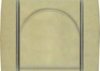náhled - ABB Element - slonová kost / ledová bílá
