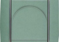 náhled - ABB Element - agáve / ledová bílá